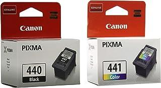 Canon 440 Black 441 Tricolor Ink Cartridges