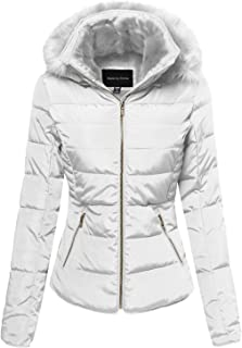 Best white puffer jacket with fur hood Reviews