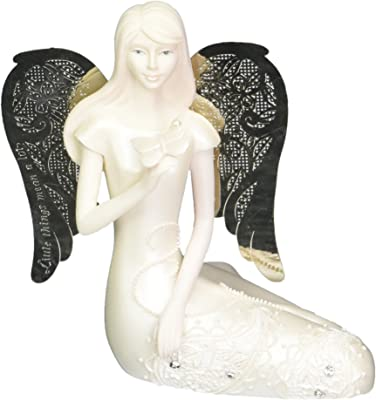 Little Things Mean A Lot June Monthly Angel Figurine, 3-1/2-Inch, Includes Gemstone on Butterfly