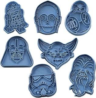 Cuticuter Star Wars Pack Cookie Cutter, Blue