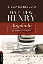 Biblia de estudio Matthew Henry (edici n TD)