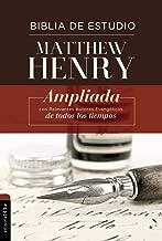RVR Biblia de Estudio Matthew Henry, Tapa Dura (Spanish Edition)