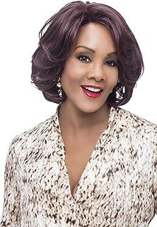 Vivica A. Fox GARDEN New Futura Fiber, Natural Baby Hair Lace Front Wig in Color GM234