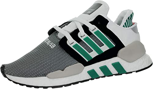 Adidas Originals EQT Support 91 18, Core negro-Clear Granite-Sub verde, 11,5