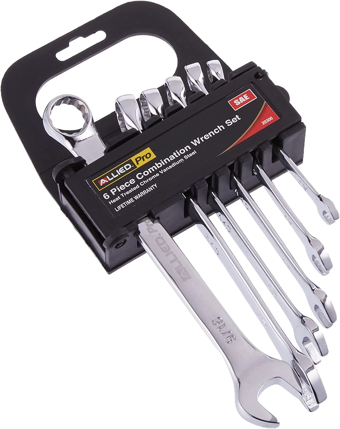 Allied 20300 SAE Fully Polished Inexpensive Piece Weekly update Combination 6 Wrench Set