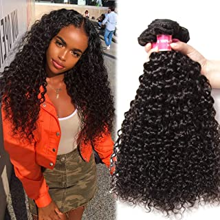 Nadula 8A Unprocessed Brazilian Remy Virgin Curly Hair Weave 3 Bundles Sexy Curly Human Hair Extensions Natural Color (18 20 22)