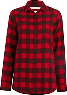 Woolrich Women's Eco Rich Pemberton Boyfriend Flannel Shirt