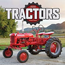 Tractors 2020 12 x 12 Inch Monthly Square Wall Calendar, Farm Rural Country