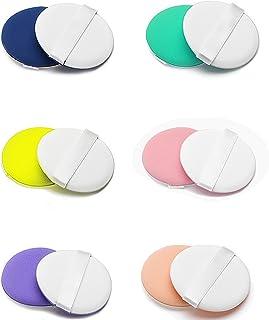 Esponja Maquillaje Facial Suave Soplo de Polvo [12-Pack] para aplicar maquillaje, corrector, polvo, crema y colorete, sin látex,hipoalergénicas e inodoras