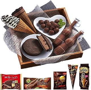 グリコ チョコレートアイスセレクション 10品<アイス 詰め合わせ ギフト 入学や卒業のお祝いに>