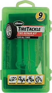 Slime 20133 Tire Repair Tackle Kit (9-Piece Set)