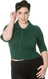 Apparel April Short Sleeve Plus Size Vintage Cardigan