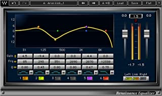 Waves Renaissance Equalizer | EQ Graphing Plugin Software Download Only