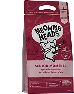 Meowing Heads Senior Moments - 1500 g