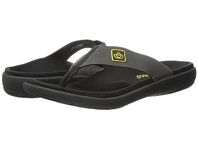 Spenco Pure Sandal (Charcoal) Men