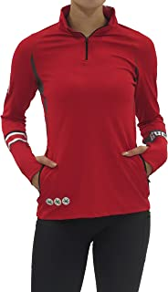 Bend The Ohio State University 1/4 Zip Gameday Pullover/Scarlet