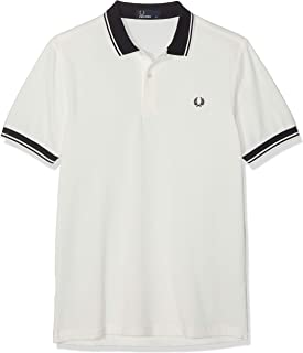412668ab6 Fred Perry Men s Contrast Rib Pique Shirt Polo