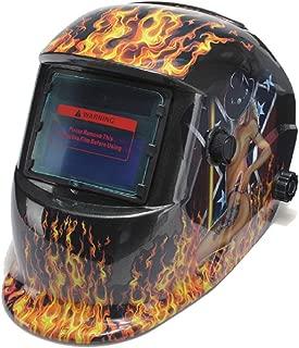 Auto Darkening Solar Welding Helmet with Adjustable Shade Range 4/9-13 for Mig Tig Arc Welder Mask Shield New Design (Sexy Girl)