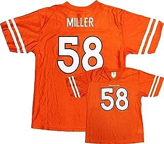 Von Miller Denver Broncos NFL Youth Orange Mesh Home Replica Jersey