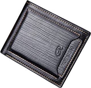 New Men Wallets PU Leather Men's Short Purses Money Wallet Credit Cards Holder Pocket Luxury Designer Purse