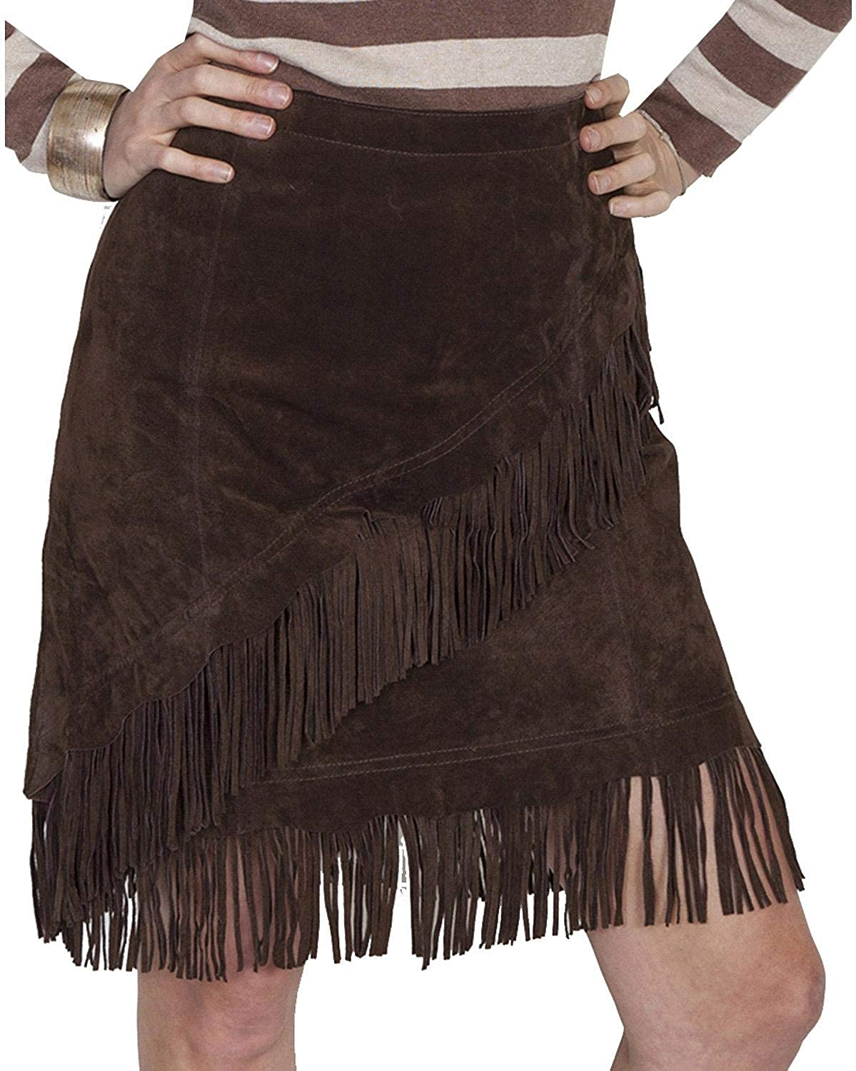 Scully Women's Tracy Suede Skirt