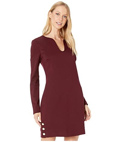 Trina Turk Shiraz Dress (Malbec) Women
