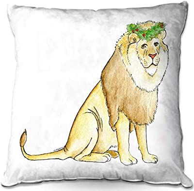 Amazon.com: Linen Sqare Decorative Throw Pillow Cover for ...