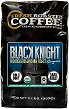 Fresh Roasted Coffee LLC, Black Knight Organic Coffee, Artisan Blend, Dark Roast, Fair Trade, USDA Organic, 2 Pound Bag