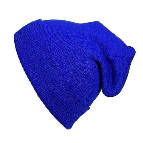 Cap911 2040USA Unisex Plain 12 inch Long Beanie - Many Colors c43738d98a