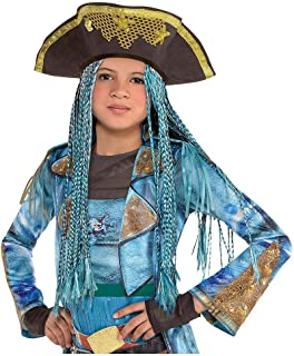 HalloWIG Compatible with Child Uma Hat with Braids - The Descendants 2Halloween Costumes Costume Accessories Wigs