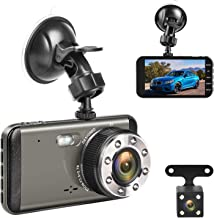 Effort Dual Dash Cam Front and Rear,H3 FHD 1080P Night Vision Car Camera,4