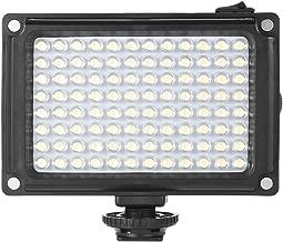 Andoer LED Video Light Panel 5500K 3200K CRI85  with Orange Filter for Canon Nikon Sony DSLR Camera Camcorder