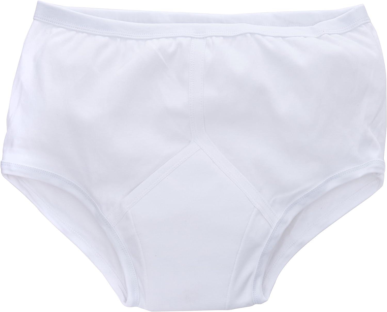 P&S Healthcare - Calzoncillos para hombre (100 a 100 cm), color blanco