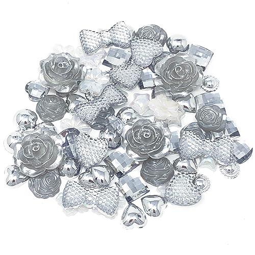 Luxury Diamante Pearl Embellishment Scrapbooking Cardmaking Wedding Card Craft F
