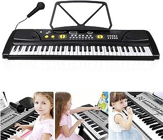 MUCH Electronic 61 keys Music Piano Keyboard Portable Digita