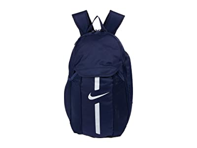 Nike Academy Team Backpack (Midnight Navy/Black/White) Backpack Bags