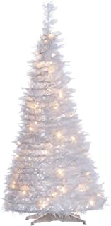 Sterling 4 PopUp White Pine/HollyLeaves Home Decor, 22InL x 22InW x 3InH,