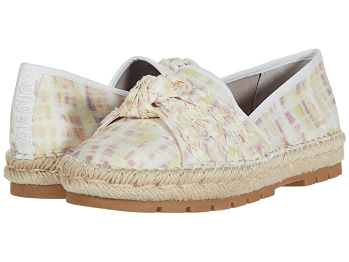 Circus by Sam Edelman  Lani (Pastel Multi Washed Out Plaid Canvas) Womens Shoes