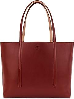 BOSS Damen Taylor Shopper-U Wende-Shopper aus Nappaleder mit Logo-Pouch