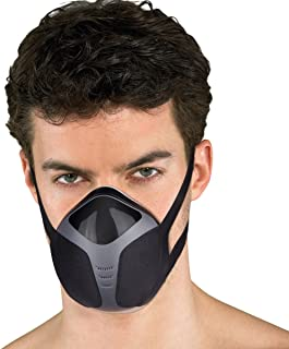 isYoung Dustproof Mask Mask Safety Respirators Workout Mask USB Reusable Workout Oxygen Mask, Perfect for PPE, Home Improvement, DIY and Gym, Running (Black1)