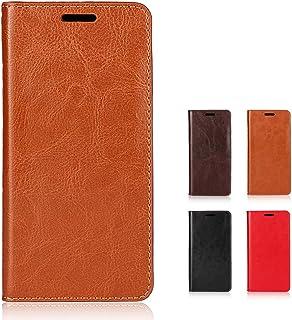 Galaxy S6 Edge SC-04G ドコモ SCV31 au Softbank ケース カバー 手帳型 本革 レザー 財布型 カードポケット スタンド機能 SC-04Gケース SCV31ケース ライトブラウン