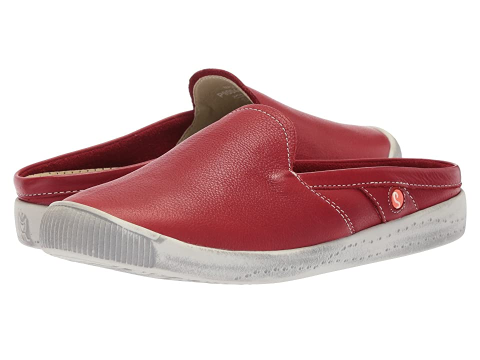 FLY LONDON IMO447SOF (Red Smooth Leather) Women
