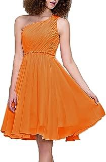 Cocktail Dress One Shoulder Prom Formal Dresses for Women Bridesmaid Dresses Short
