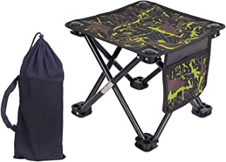 Opvouwbare campingkruk, draagbare outdoor luier, stoel, compacte stoel, opvouwbare strandstoel, rugzakreizen, wandelen, ka...