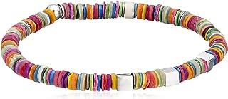 Tateossian Seychelles Silver Single Wrap Bracelet