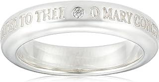 [SAINTS] 钻石玛丽亚银戒指