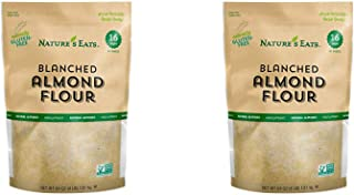 Nature's Eats Blanched Almond Flour, 64 Ounce (2 Pack)