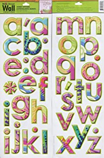 Main Street Wall Stickers - Alphabet Girl (one double sided sheet)