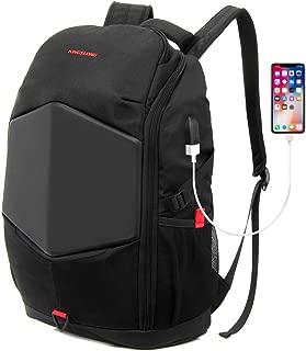 KINGSLONG Mens Backpack Laptop Travel Gaming Motorcycle Backpack 15.6 Inch