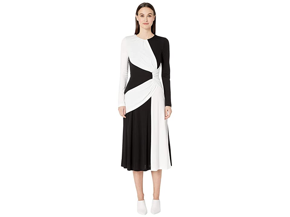 Prabal Gurung - Prabal Gurung Lugu Long Sleeve Sash Dress